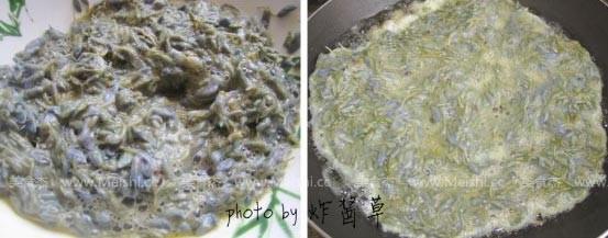 紫藤花炒蛋的做法图解
