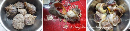 海螺馅水饺的做法大全