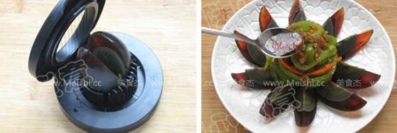尖椒拌皮蛋的简单做法