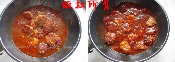 肉丸盖饭怎样煮