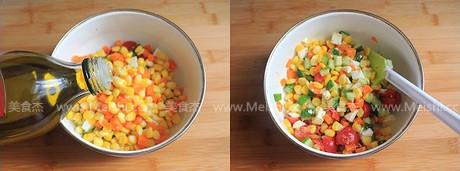 玉米蔬果沙拉的家常做法