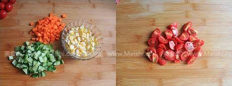 玉米蔬果沙拉的做法大全