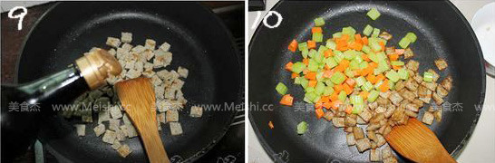 火龙果芹菜炒鱼饼怎么吃