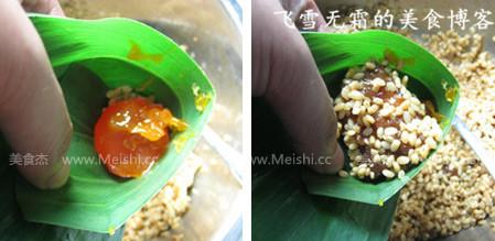 猪肉咸蛋粽子的简单做法