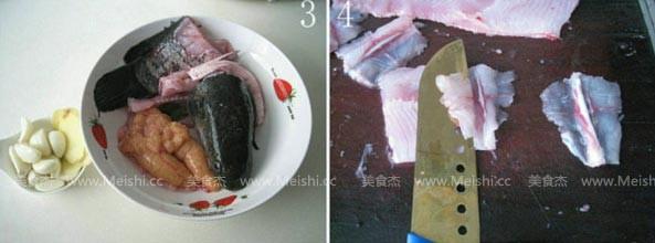 浇汁汆斑鱼的做法图解