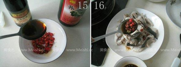 浇汁汆斑鱼怎么煮