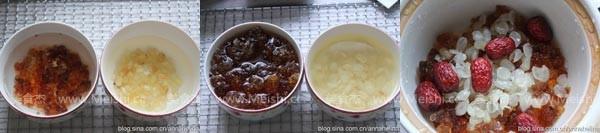 桃胶皂角米羹的做法大全