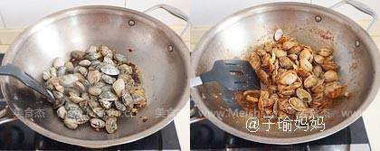酱爆花蛤的做法图解