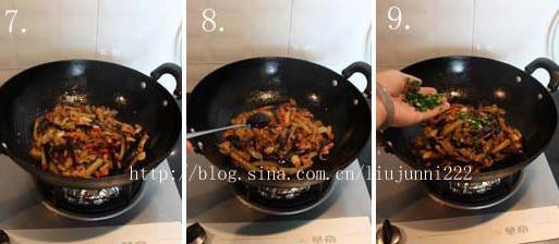 肉末炒双茄的家常做法