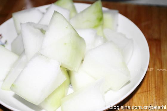 冬瓜排骨汤的家常做法