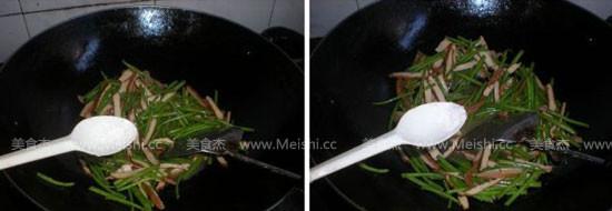 芦蒿苔炒香干的简单做法