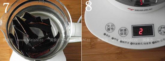 灵芝丸子汤的简单做法
