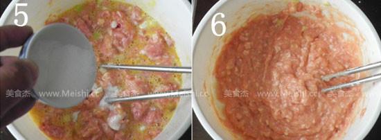 灵芝丸子汤的家常做法