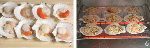 剁椒蒜蓉烤扇贝的家常做法