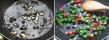 豆豉炒香干的做法图解