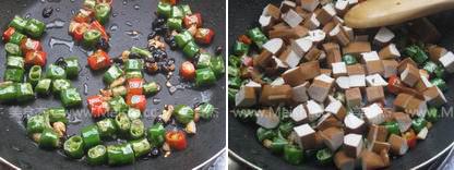 豆豉炒香干的家常做法
