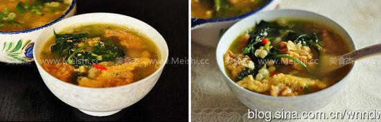 耙豌豆酥肉汤怎么煮
