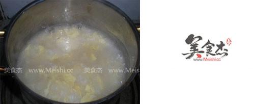 藕粉酒酿鸡蛋羹怎么做