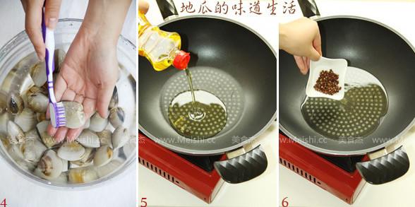 葱姜炒蛤蜊的做法图解