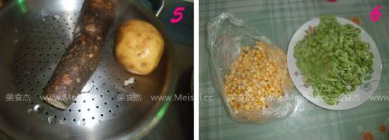 木鱼花丸子面包的家常做法
