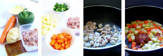 娘惹咖喱鸡焗饭的做法大全