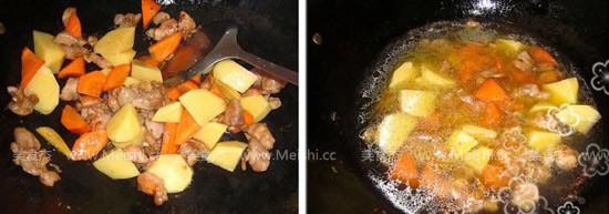 咖喱鸡肉饭的做法图解