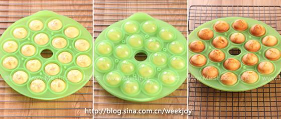 菠萝棒棒糖蛋糕的家常做法