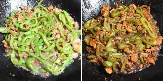 尖椒炒肉的简单做法