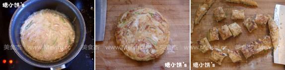 火腿肠土豆丝饼的家常做法