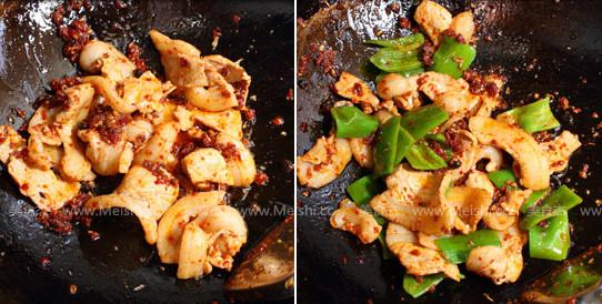 青椒豆豉盐煎肉的简单做法