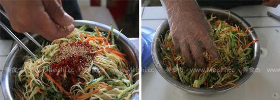 韩式凉拌菜怎么炒