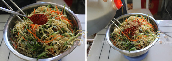 韩式凉拌菜怎么吃