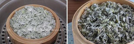 蒸芹菜叶的家常做法
