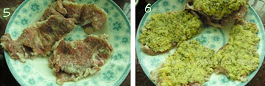香草面包猪扒的家常做法