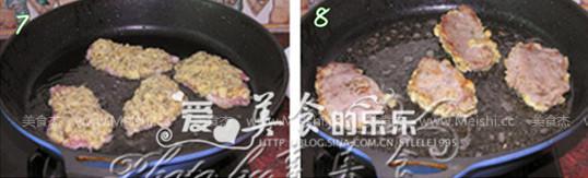 香草面包猪扒的简单做法