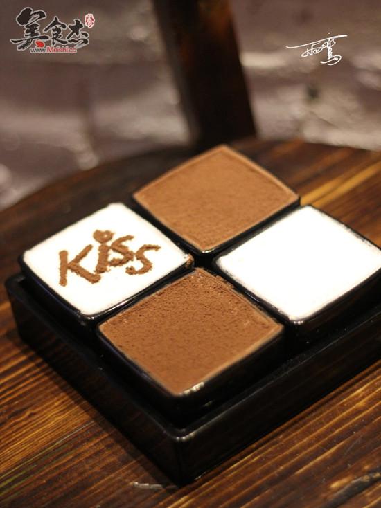 黑白双色巧克力慕斯的简单做法