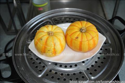 金瓜蒸雪蛤怎么煮