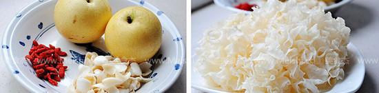 百合银耳雪梨汤的做法大全