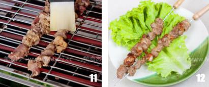 烤羊肉串怎么做