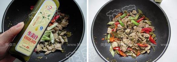 酸菜猪肉炖粉皮怎么吃