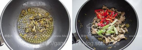酸菜猪肉炖粉皮的简单做法
