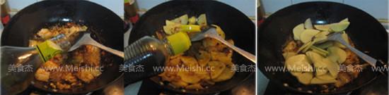 五花肉炒土豆片的做法图解