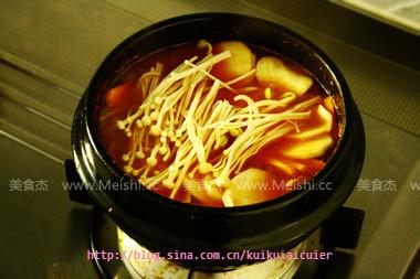 大酱汤的简单做法
