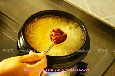大酱汤的做法图解
