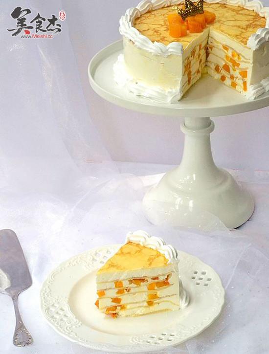 千层奶酪芒果蛋糕怎么炖