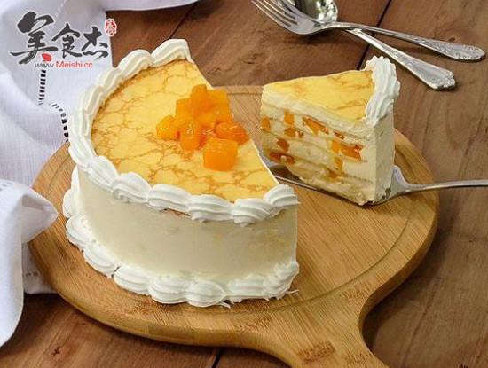 千层奶酪芒果蛋糕怎么煮
