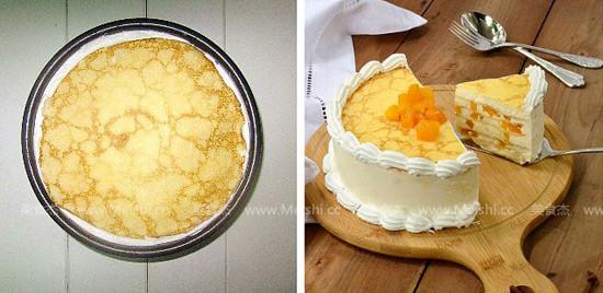 千层奶酪芒果蛋糕怎么炒