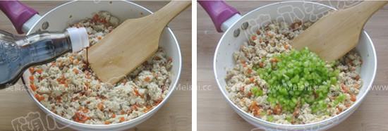 五彩鸡刨豆腐的简单做法