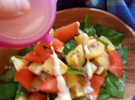 蔬果暖沙拉的家常做法