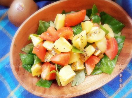 蔬果暖沙拉的做法图解